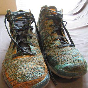 Mens Nike Free Flyknit Chukka Mineral Teal Sz 13